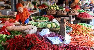 Bahan Makanan Riau Alami Deflasi 2,59 Persen
