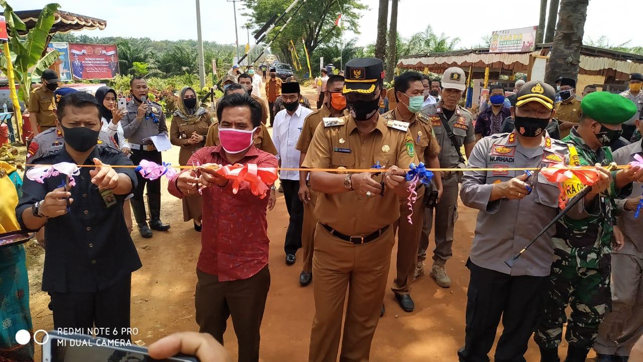 Resmikan Kampung Tangguh Nusantara, Bupati Ajak Seluruh Perusahaan Harus Ikut Peduli