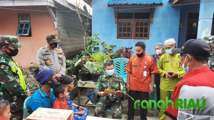 Dandim 0314 Inhil Kunjungi Rumah Nenek Samnah di Tempuling