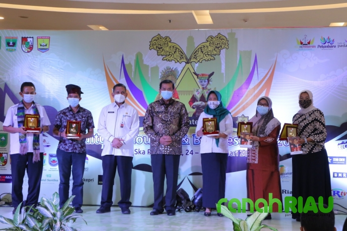 Wali Kota Pekanbaru Buka Cultures Tourism dan Business Fair 2021
