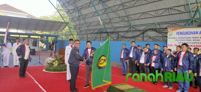 H.Agus Triansyah, Resmi Pimpin PELTI Riau