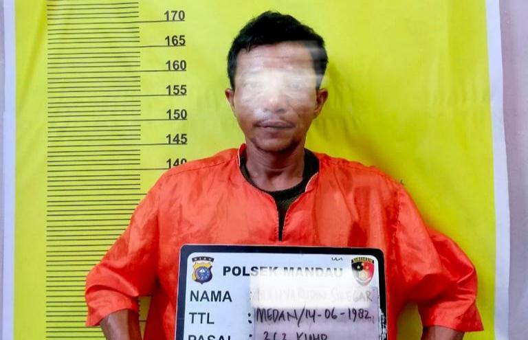 Terekam CCTV, Dua Orang DPO Satu Maling di Tangkap Polsek Mandau