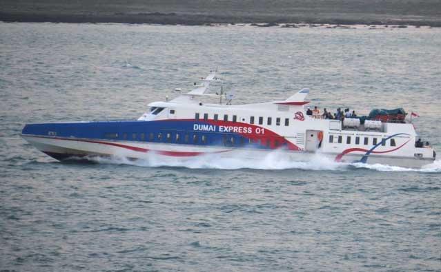 Tarif Angkutan Kapal di Riau Tidak Turun