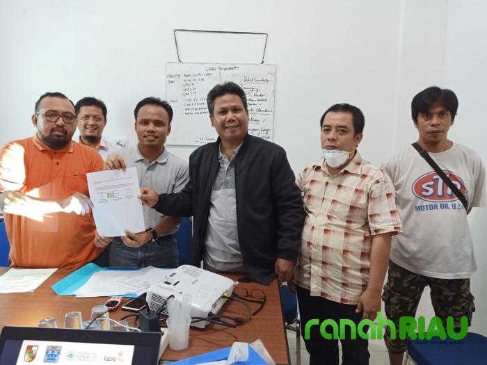 LazisMU Kota Pekanbaru gelar penandatangan nota kesepahaman RW Siaga Covid-19 dengan PMBRW