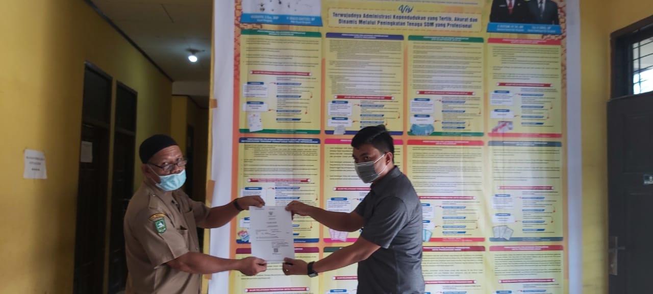Masyarakat di Permudahkan Dengan Urusan Administrasi Dukcapil Kecamatan Pinggir