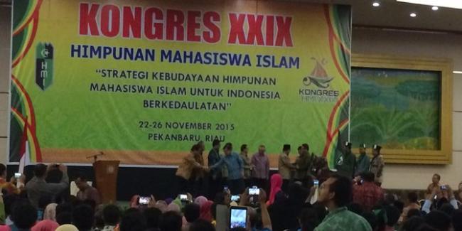 Kongres XXIX HMI Tinggalkan Kerusakan Rp1,2 Miliar di Riau