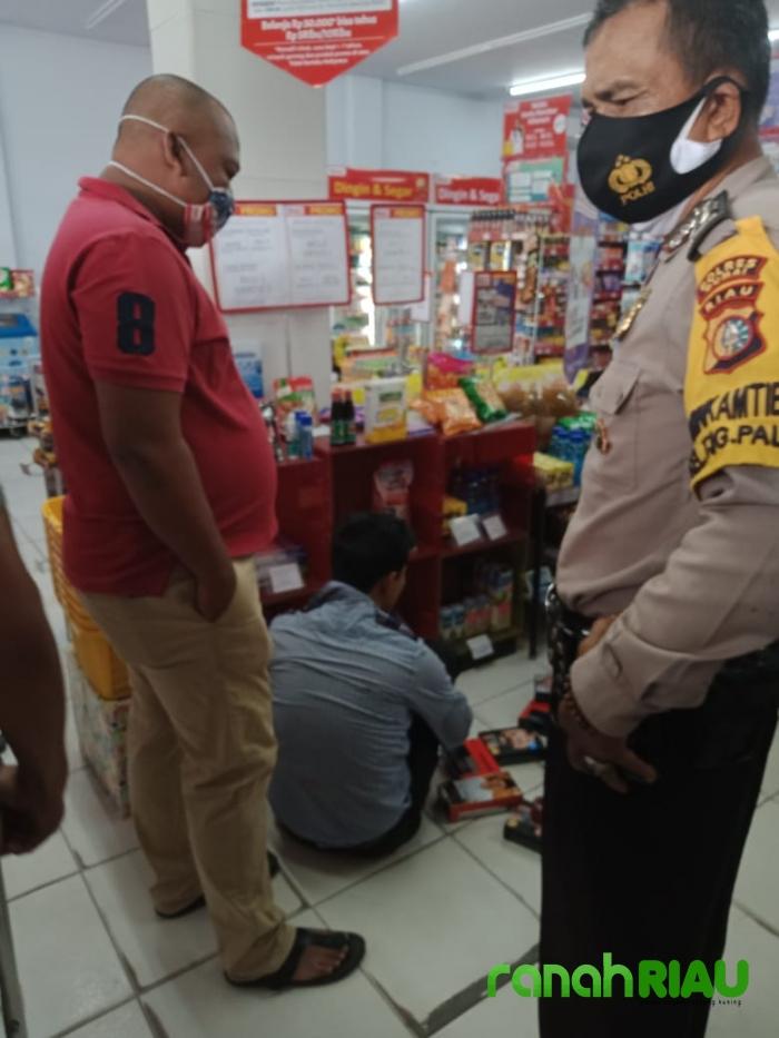 Sempat Adu Jotos, Karyawan Alfamart berhasil gagalkan Aksi Pencurian