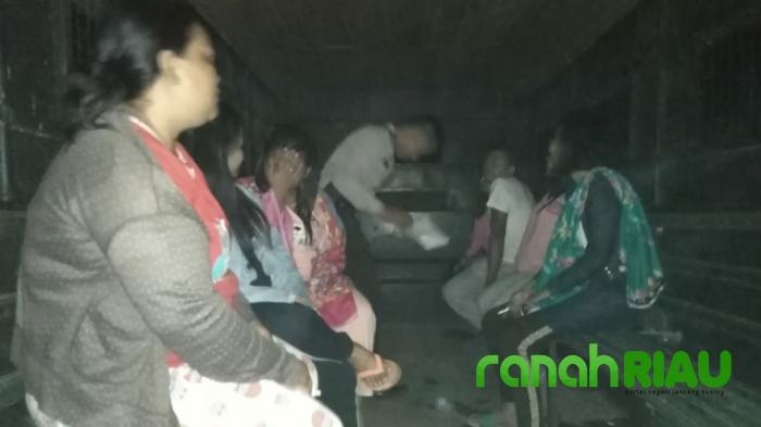 7 Wanita Kupu-kupu Malam Diamankan Polsek Kuantan Mudik di Bukit Batabuh