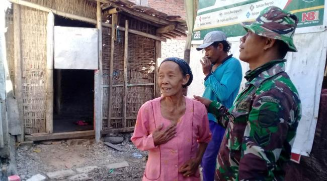 Dandim Potong Tumpeng, Tanda Doa Dan Harapan Dalam TMMD