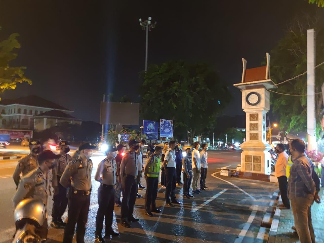 Giat Ops KRYD, Polres Bengkalis Sosialisasi Prokes dan Berikan Penegakan Disiplin Kepada Masyarakat