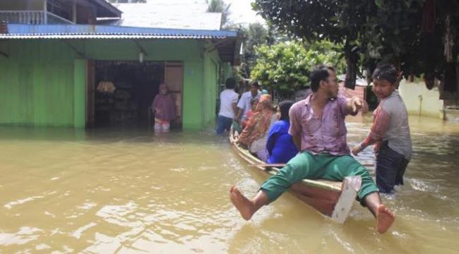 Tiga Kabupaten Diminta Tetapkan Status Tanggap Darurat Banjir