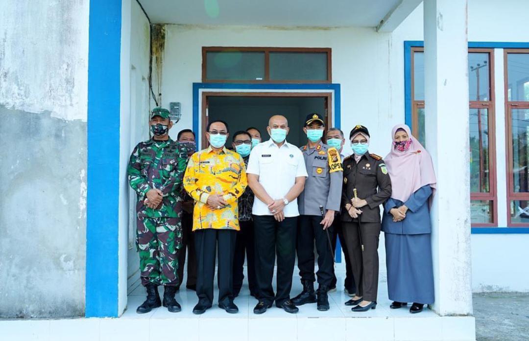 Kepala BNNP Riau Tinjau Langsung Persiapan Kantor Khusus BNNK Inhil