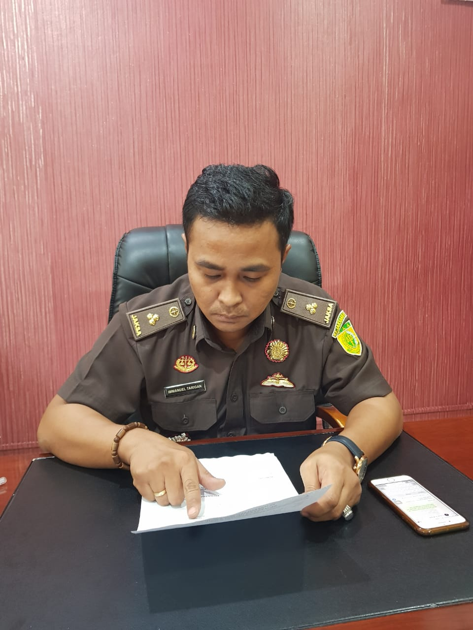SPDP Kasus 2 Warga Bengkalis Diduga Miliki Sabu Belum Diterima Kejari