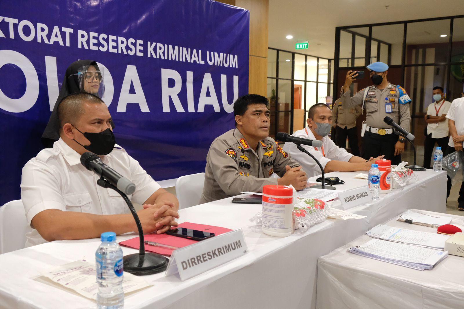 Rugikan Pengusaha Sembako, Polda Riau Ungkap Kasus Penggelapan Senilai Rp 3,7 Miliar