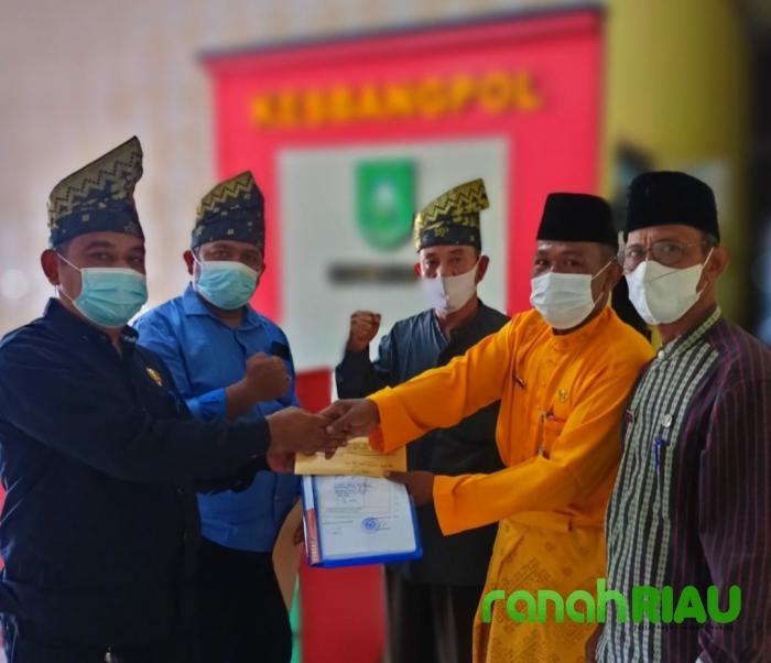 Tertib Administrasi, DPD LLMB Daftarkan Keberadaan Kelembagaan di Kesbangpol Bengkalis