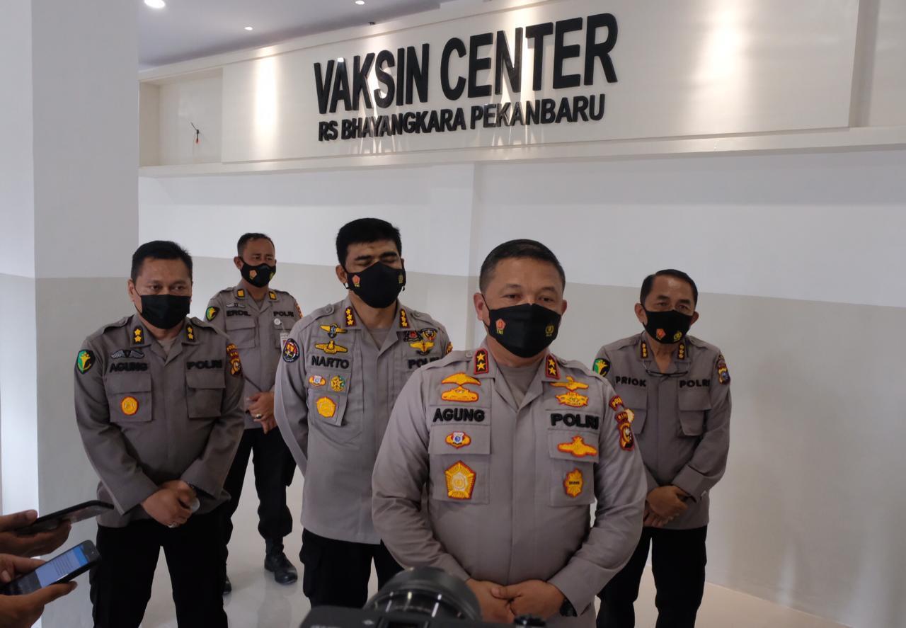 Tinjau Gedung Vaksin Center Bhayangkara, Irjen Agung : Insya Allah Pekan Depan Siap Digunakan
