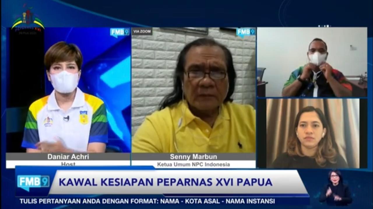 Menyongsong pelaksanaan Peparnas XVI Papua