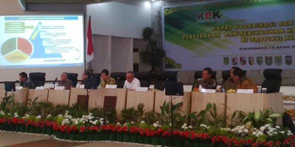 KPK Turun Tangan Lakukan Pendampingan ke Riau