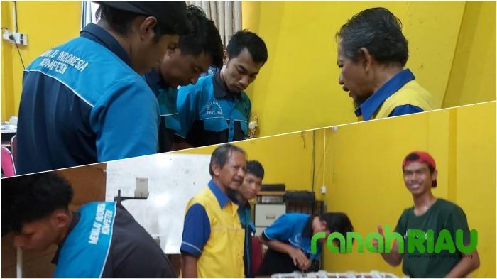 Mengentaskan Pengangguran, Kades Batang Dui, Cetak Skill Pemuda Duri