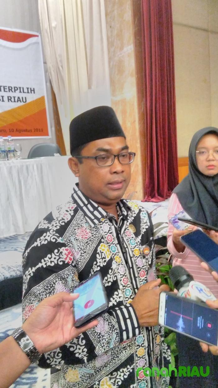 Rapat Pleno KPU Riau usai, Golkar unggul di Pemilu 2019