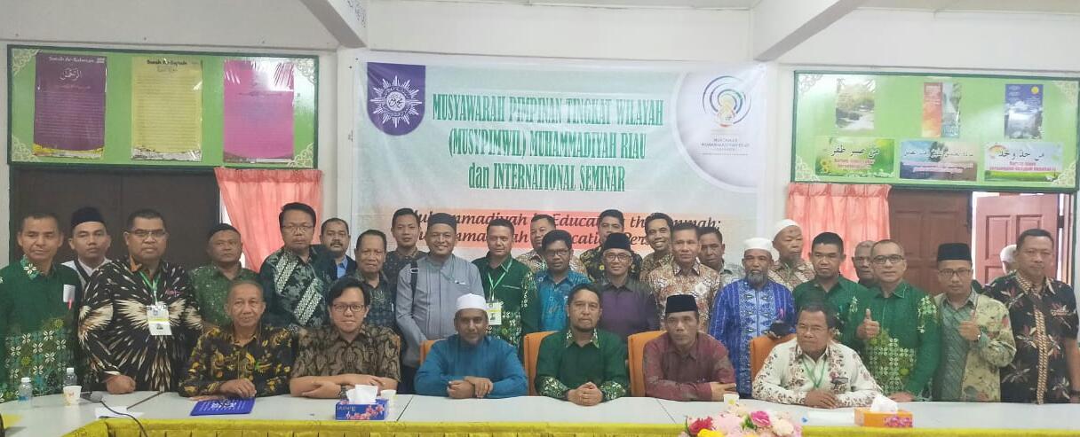 Gelar Musypimwil di Malaysia, Muhammadiyah Riau go internasional