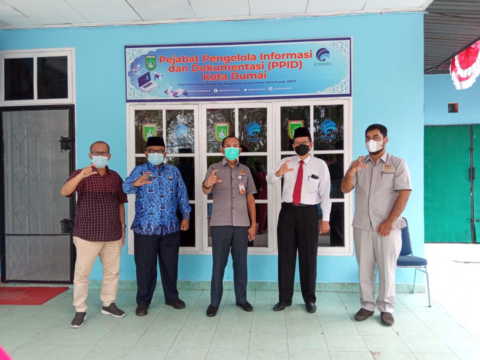 Dari Monev KI Riau, Kota Dumai Siap Menjadi Tuan Rumah HAKIN 2022