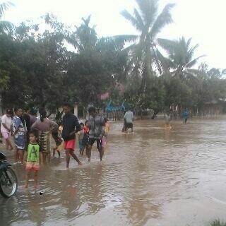 Banjir Bandang Landa Pangean