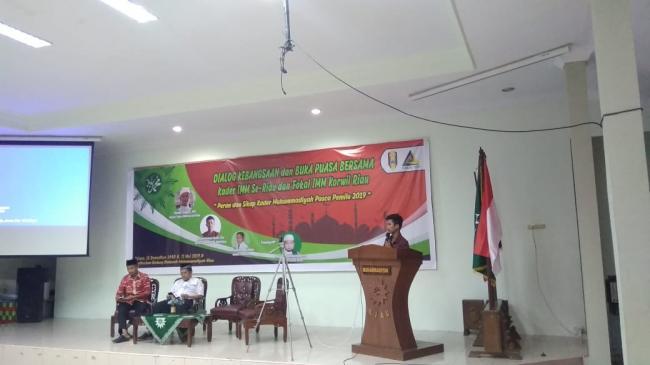 DPD IMM Riau bersama Fokal IMM Riau, bahas Sikap Kader Muhammadiyah Pasca Pemilu 2019