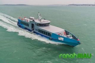 Telah Hadir Ferry Mv.CAS Melayani Penumpang Rute Muar ke Bengkalis