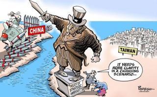 Cina Memanas: Taiwan respon tantangan Perang, AS, Australia siap bantu Taiwan