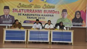 Plh Bupati Kampar Silaturahmi dengan Bumdes Se Kabupaten Kampar