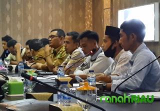 Datangi DPRD Meranti, Forum Pemuda Pulau Merbau sampaikan keluhan masyarakat