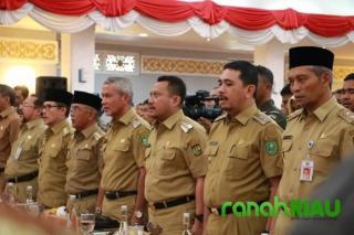 5 Anggota DPR RI Bersilaturahmi Ke Riau