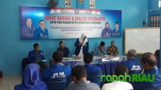 DPD. PAN Kuansing, Dalam Waktu Dekat Ini Akan Buka Pendaftaran