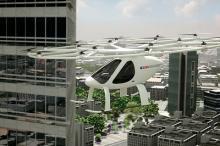 volocopter, Teknologi terbaru alat transportasi di Dubai