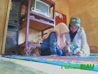 Talna Padang, Mahasiswa KKN Unimal yang mengajar dari Rumah ke Rumah
