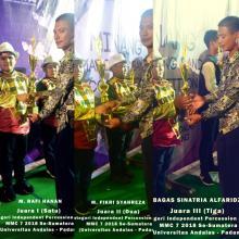 SD Muhammadiyah 3 Unggulan Kota Pekanbaru, Borong Piala MMC 7 di UNAND Padang