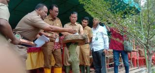 Bupati Rohil H Suyatno Apresiasi DLH Bangun Wisata Hutan Kota