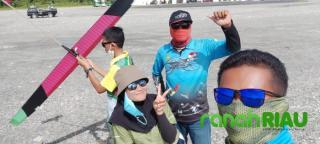 Tiga Tahun di Abai KONI, Atlet Aeromodelling Riau Asal Bengkalis Mohon Maaf, Peringkat 4 di PON