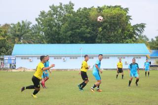 Pertandingan Olahraga Sambut Rangkaian HUTKe-74 TNI AU di Lanud Rsn