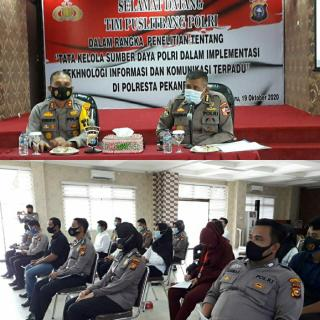 Tim Puslitbang Polri Kunjungi Polresta Pekanbaru