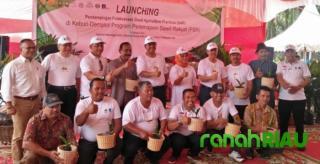 Gubernur Riau hadir dalam Launching program GAP di Siak