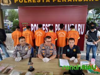 Narkotika berkedok teh cina berhasil diamankan aparat di Stadion Utama Pekanbaru