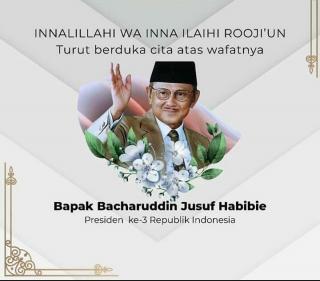 Hormati Bj. Habibie, Mensesneg Tetapkan Hari Berkabung Nasional