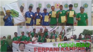 Pertahankan Juara Umum Kejurprov Riau III di Bengkalis, 5 Atlet Panahan Kampar berangkat pra-PON