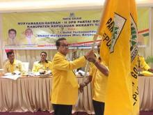 Musdar Mustafa Kembali terpilih Nakhodai DPD Golkar Meranti Periode 2016-2020