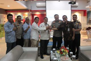 Jamin Keamanan, Kapolda Banten tinjau OBVITNAS di Merak Banten