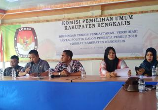 KPU Bengkalis Akan Bentuk Media Senter Untuk Pilkada Tahun 2020
