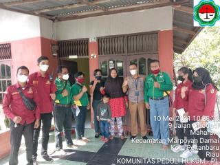LSM KPH-PL Apresiasi DinSos Kota Pekanbaru Respon Cepat Keluhan Warga