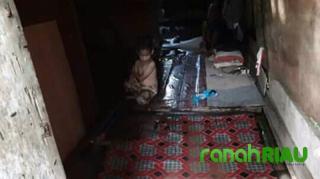 Debit Air Meningkat, Kondisi Rumah Nenek Samnah di Tempuling Memprihatinkan
